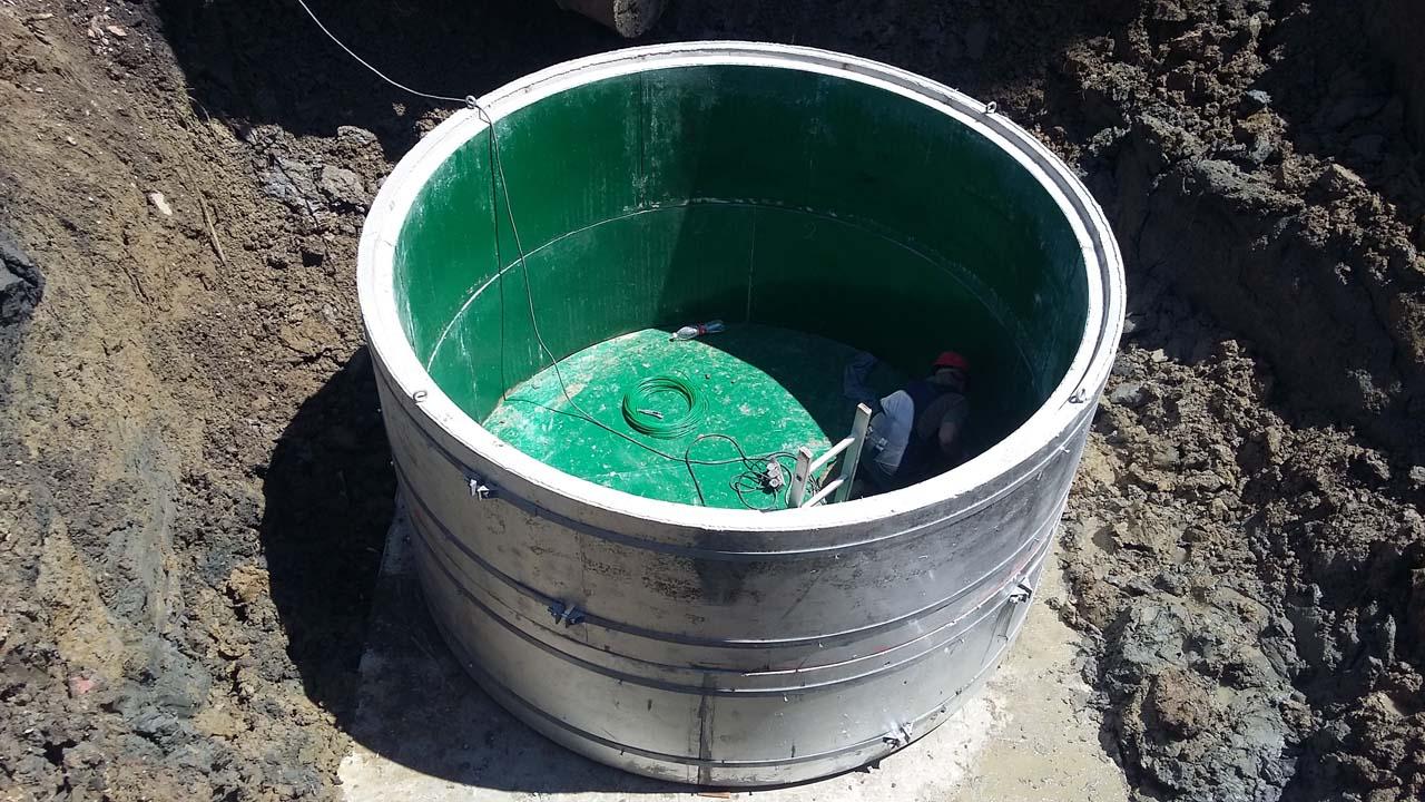 канализационная насосная