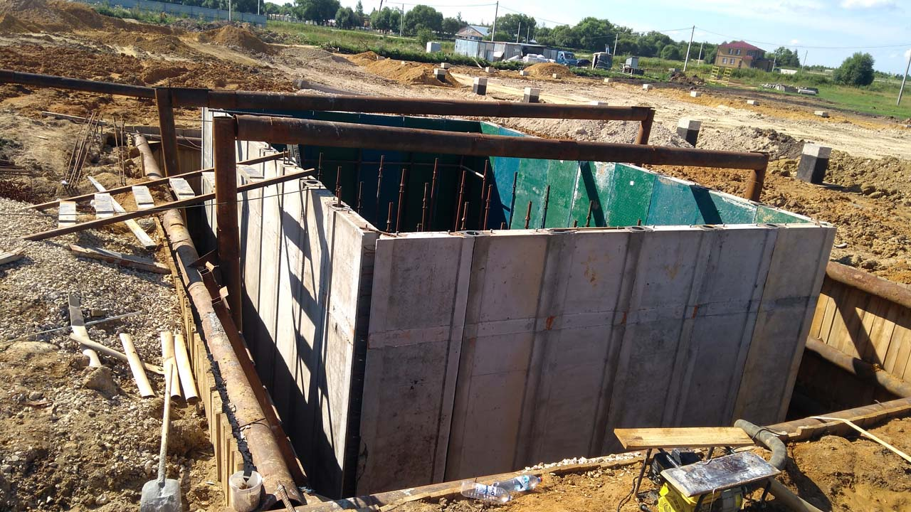 канализационный станция
