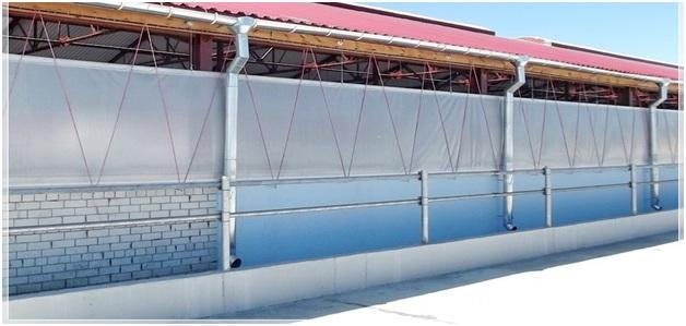 Вентиляционные рулонные шторы