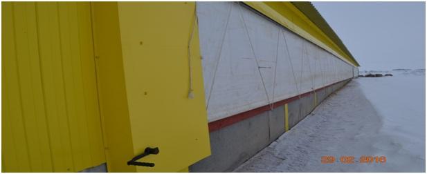 Вентиляционные рулонные шторы для коровников