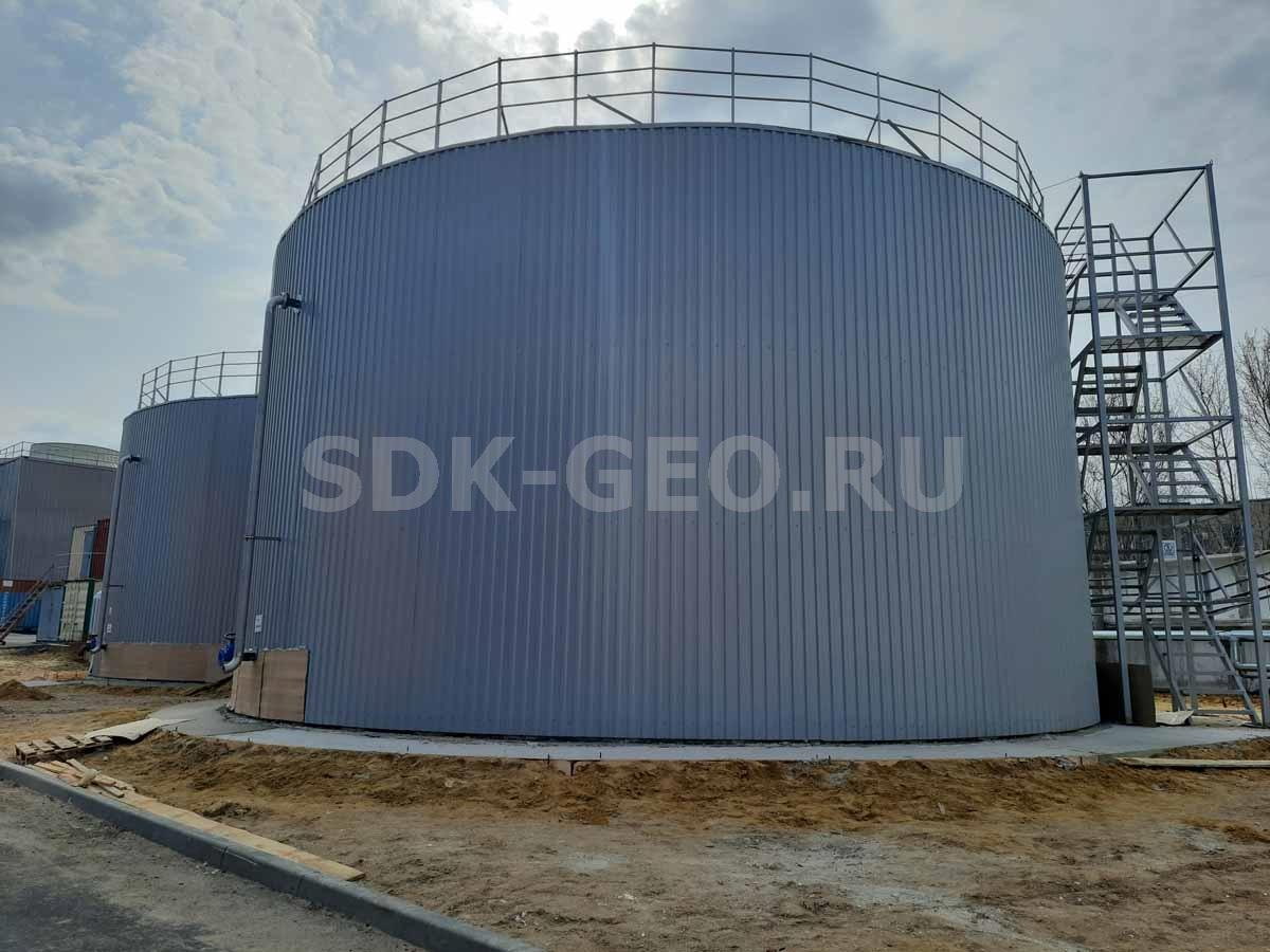 резервуар обратной воды